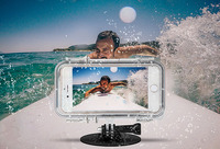 2016 Trending Products Waterproof Case Underwater Diving Surfing Transparent Touch Screen Cover for iPhone 5S