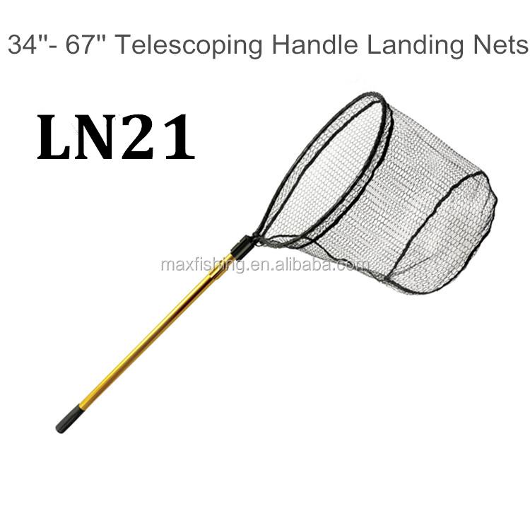 Long handle fishingtelescopic landing net buy landing for Long handle fishing net