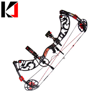 China Archery Supplies Shooting Compound Bow and Arrow Set for Competitive Game Hunting Aluminium Alloy Riser CNC Alloy
