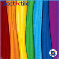 Colorful ombre silk stripe floral satin fabric