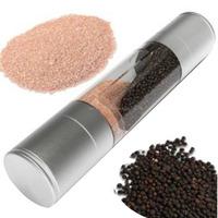 Salt and Pepper Grinder with Adjustable Ceramic Grinding Mechanism Good quality mill set