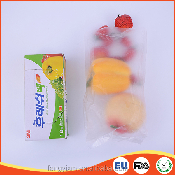 Top quality disposable transparent small food plastic bag wholesale