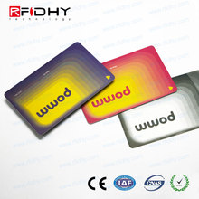 Paypal Shanghai chuang xin jia blank credit card with magnetic stripe