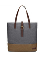 Womens Canvas Bag Lightweight Ladies Shoulder Handbag Shopping Purse
