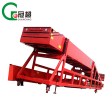 OEM steel hinged conveyor systems / large capacity telescopic belt conveyors China