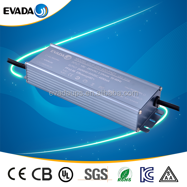 Standard 25~36V 180-220W dimmable constant voltage led driver