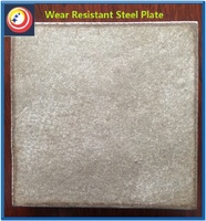 high chromium wear layer resistant steel plate