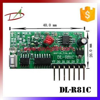 customized sleeping function wireless module for remote motor controller switch