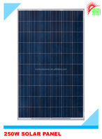 250W Mono/Poly solar panel for charging 12V battery