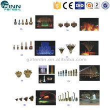 Wholesale water jet fountain nozzle,stainless steel and brass water fountain nozzle