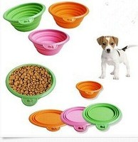 hot sale silicone dog bowl