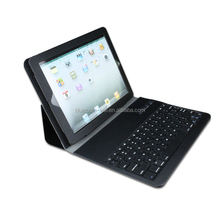 Wholesales High Quality PU Leather Case bluetooth 3.0 keyboard with usb port stand leather keyboard
