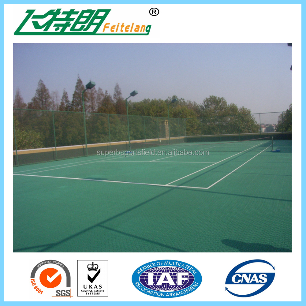 SGS certificate Tennis Court , acrylic acid polymer , acrylic tennis court coating