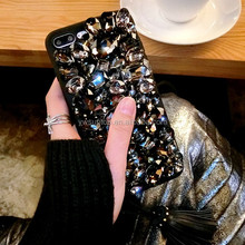 Luxury Mobile Cover Diamond Unique Silicone Phone Case For iphone 7 plus
