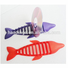 Dolphin shape plastic CD DVD display shelf/CD DVD display rack/ CD DVD display stand