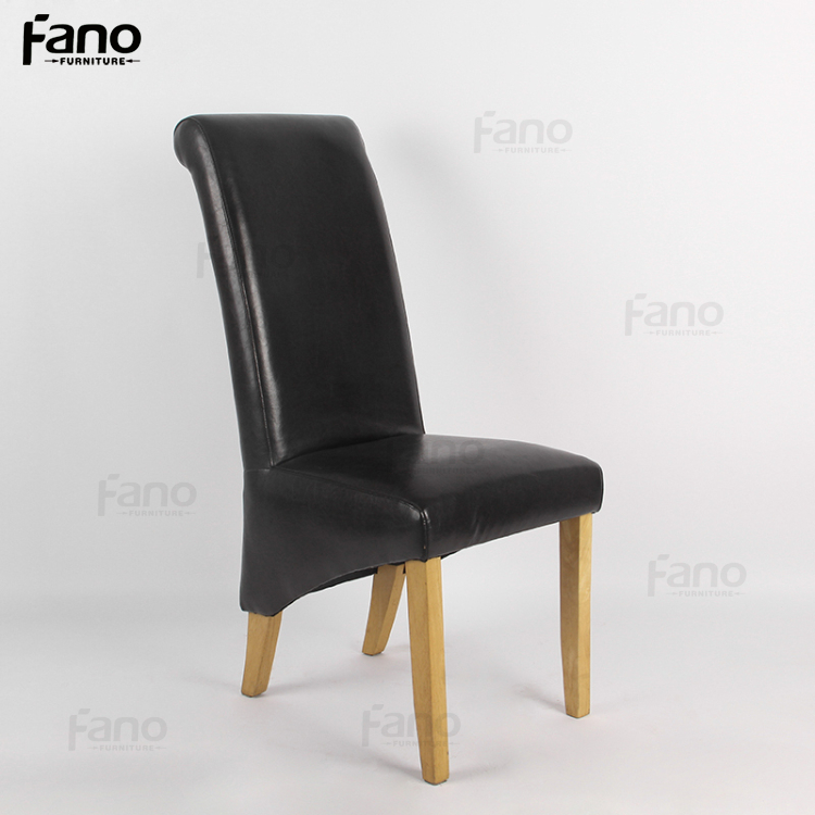 factory price restaurant leather chairs cheap high back leather club hotel office chair