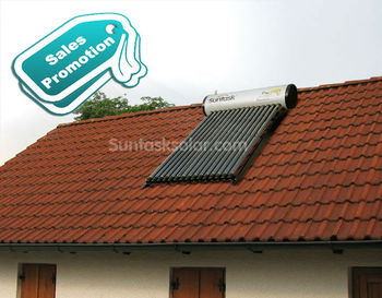 SuntaskSolar Integrated High Pressure solar water heater - STH