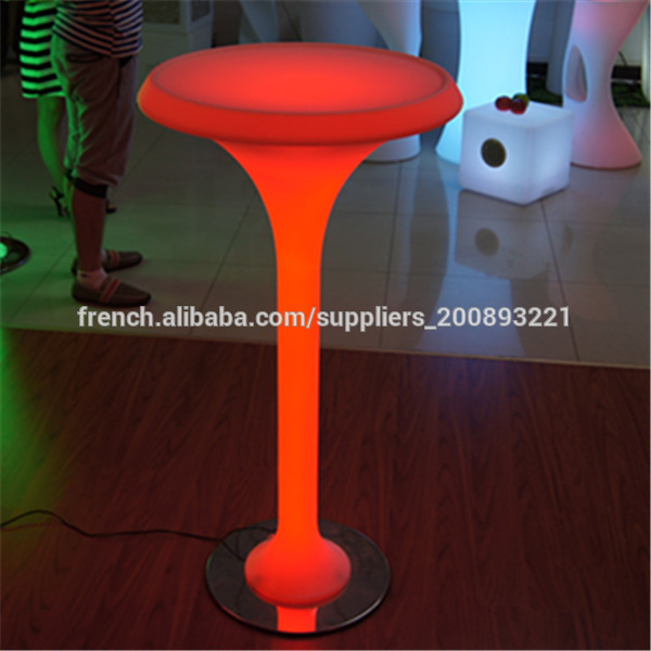 bar led lumineux table basse lumineuse led pas cher tables. Black Bedroom Furniture Sets. Home Design Ideas