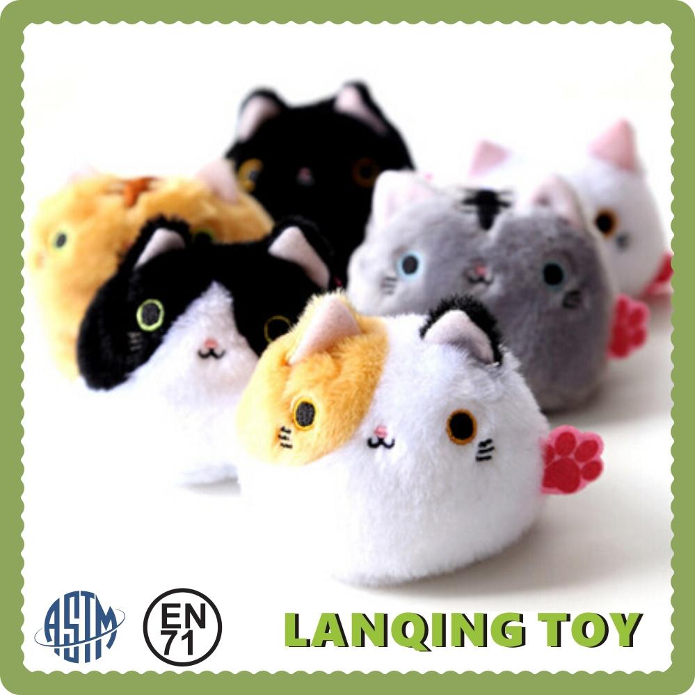Plush Toys Product : Wholesale baby toys small plush animal cat