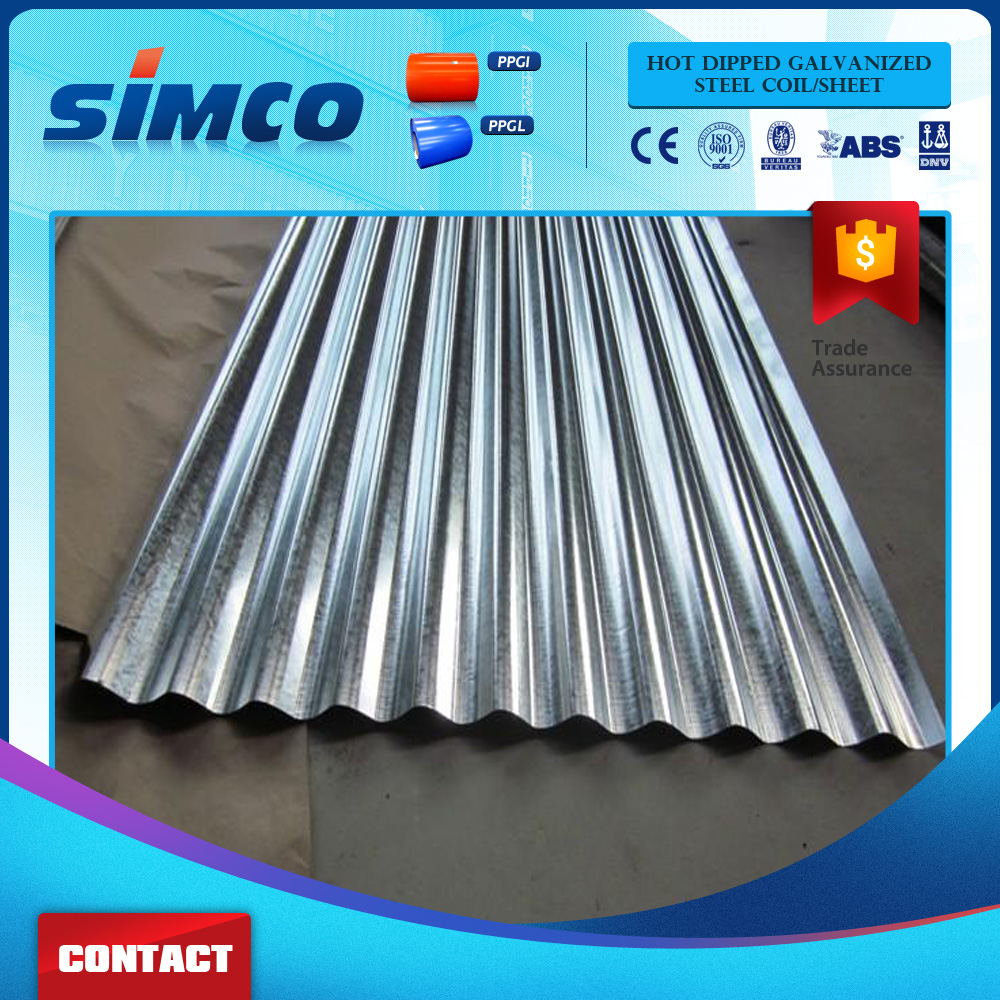 Zinc Aluminized ibr Iron Corrugated Roofing Steel Sheet Supplier