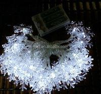 2014 100 led christmas light led lights led snowflake string light