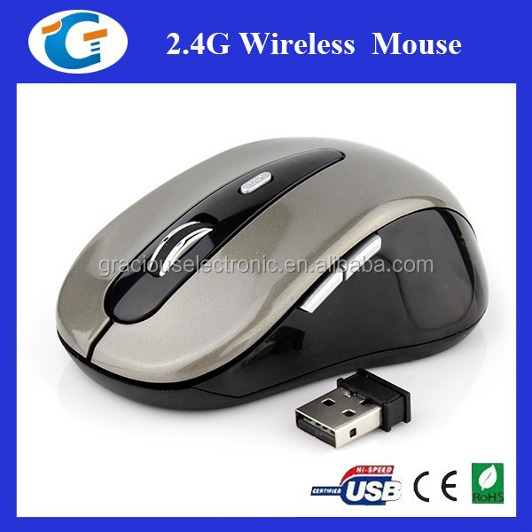 6d key brand name computer mouse with 2.4ghz wireless optical type