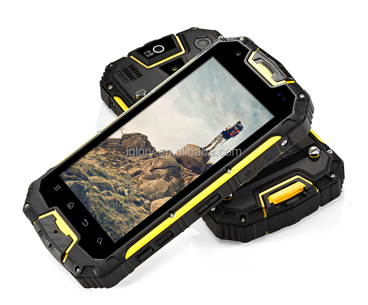 Walkie Talkie 4.5 Inches Android 4.2 MTK6589 Quad Core 3000Mah Battery 4G outdoor waterproof rugged phone
