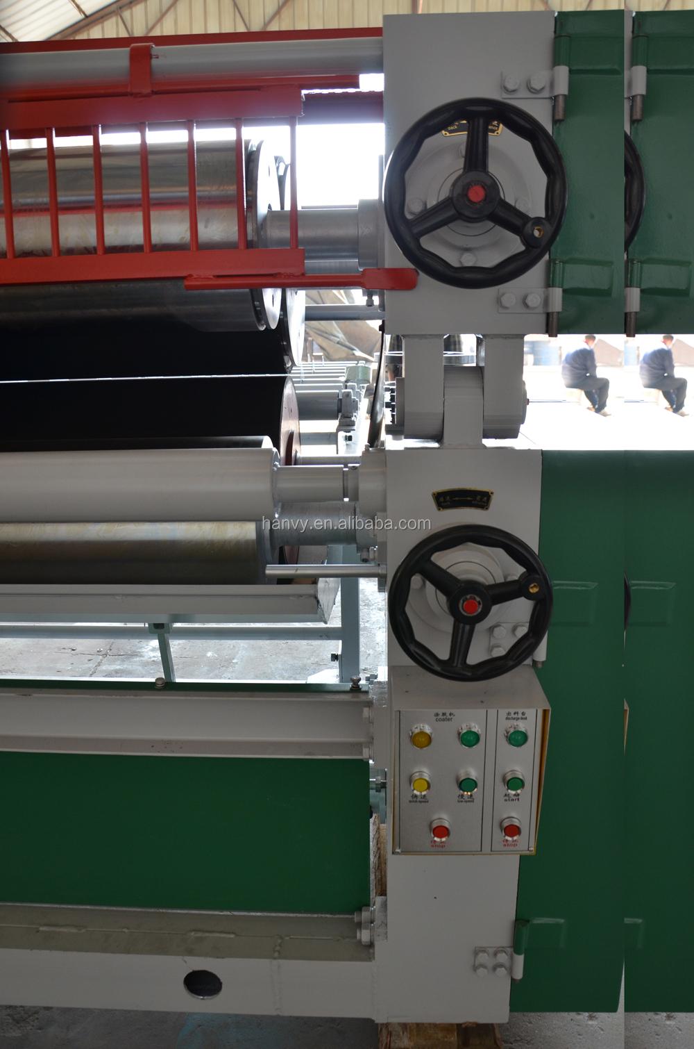 adhesive roller machine