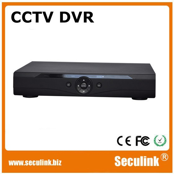 H.264 4ch Digital DVR / Wire CCTV Camera DVR Kit (DVR7204Z)