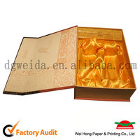 custom luxury paper box with 2 mm thickness