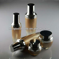 luxury korean brand cosmetic packaging glass bottle in China