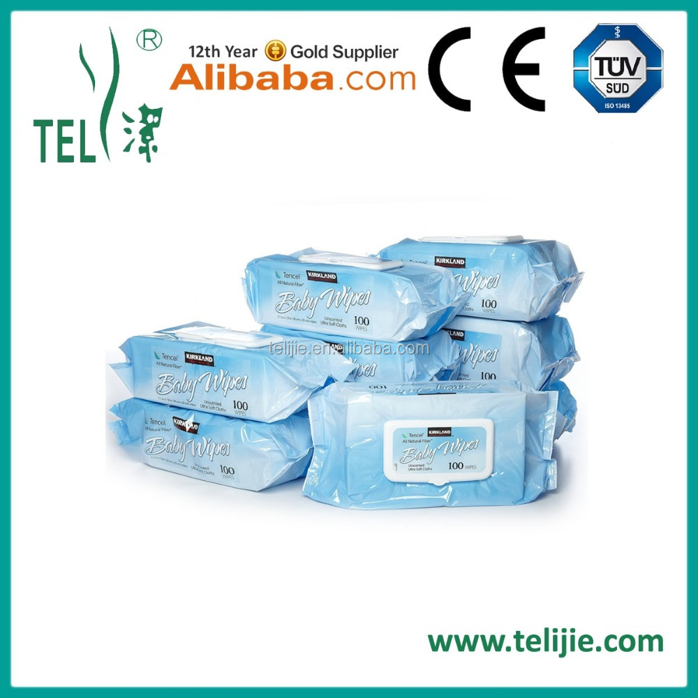 Disposable Spunlance Nonwoven Fabric Baby Wet Wipes
