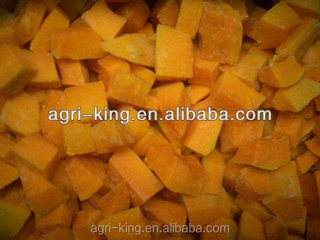 frozen fruits and vegetables squash(pumpkin) cut/diced pumpkin