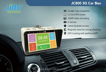 factory patented 8M CMOS Camera 5.5inch Android 4.2 GPS wifi 3G Network car PC Box 1080p hd portable dvr