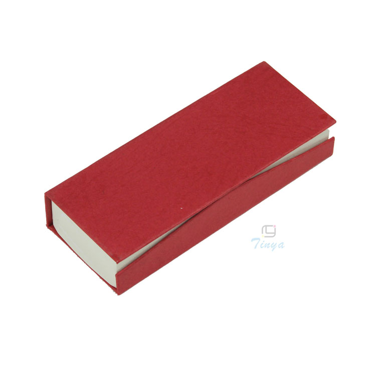 Book shape cardboard pen gift box case