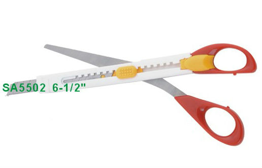 "6-1/2"" special and novel pen knife scissors SA5502"