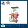 HP-16BC popcorn machine with wheels/popcorn machine/commercial popcorn machine for sale