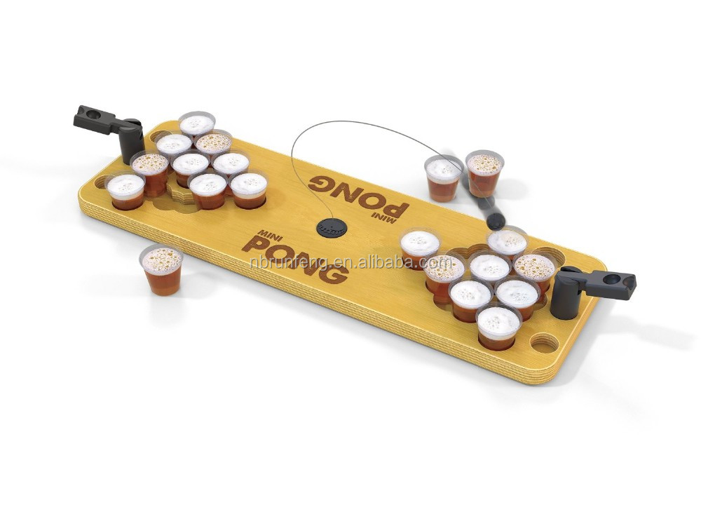 Mini Pong - Bring The Party Anywhere Game/mini beer pong