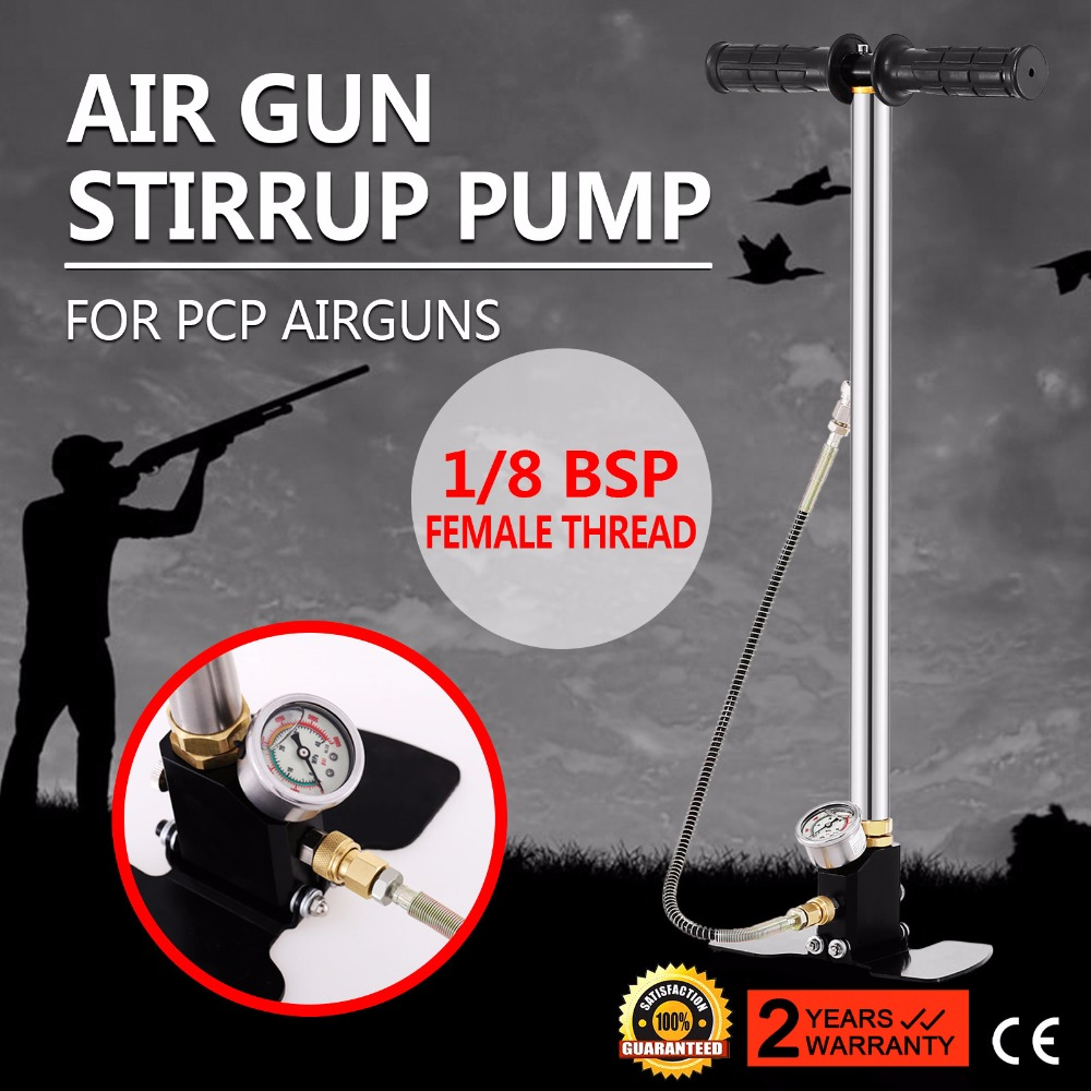 4500psi Air rifle Airrifle Air Gas Filling <strong>pump</strong> 3 Stage PCP Charging Stirrup <strong>Pump</strong>