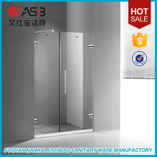Factory Direct Frameless Tempered Glass Greece Shower Screen