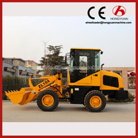 New Model wheel loader /grain bucket mini loader backhoe