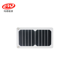 USB interface 260*160mm 5.5W/5.5V Mono solar panel for solar bags