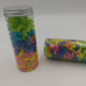 300g jelly beans packing jar gummy with fruit juice