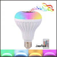 Sing Bulb With 17 Colors Light