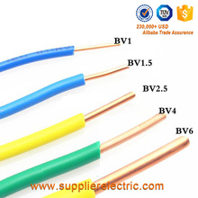 Cheap Price CCA Material PVC Insulated BV Power Cable Solid 1.5MM Single Core Electrical Wire