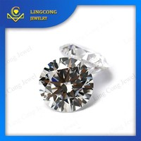 Wuzhou factory wholesale price sell 3a cubic zircon