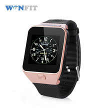 Wonfit China factory cheap price touch screen smart watch 2018 for apple iphone and android phones