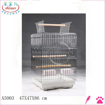 fancy wire white bird breeding cage
