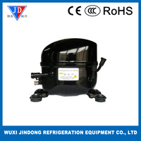Small piston type compressor for water dispenser, R600a refrigerator compressor QD91Y