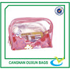 Lovely small toiletry pvc advertising bag